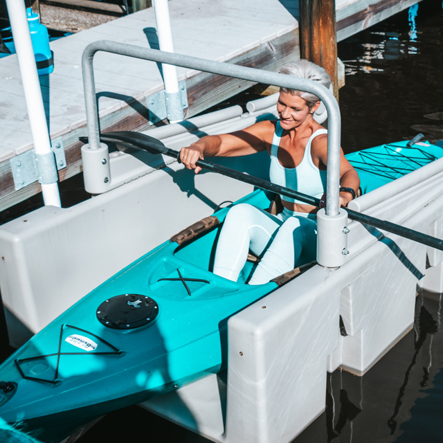 YAKport Kayak Launch fixed or floating docks