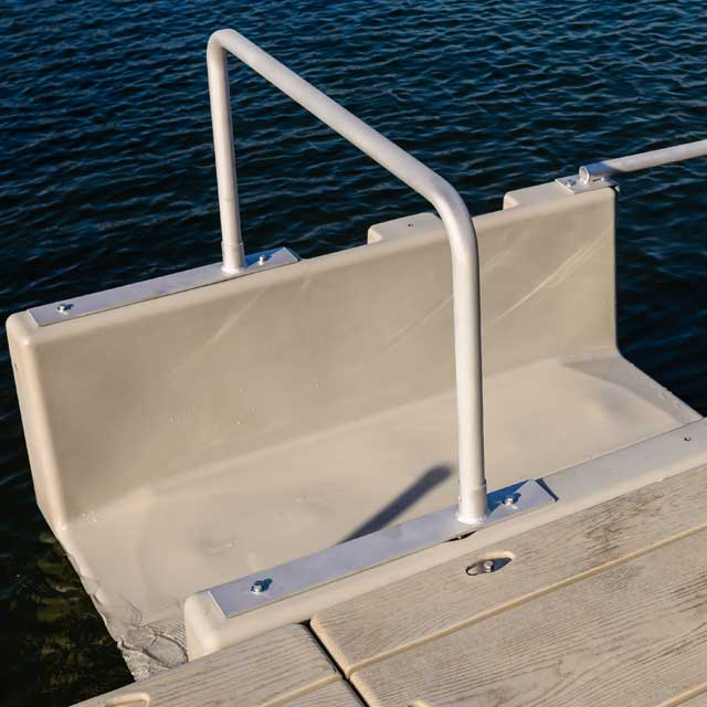 Kayak Launch Over Head Grab Bar