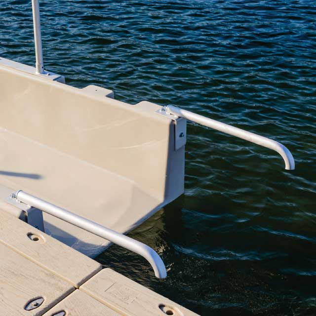 Kayak Launch Short Grab Bars