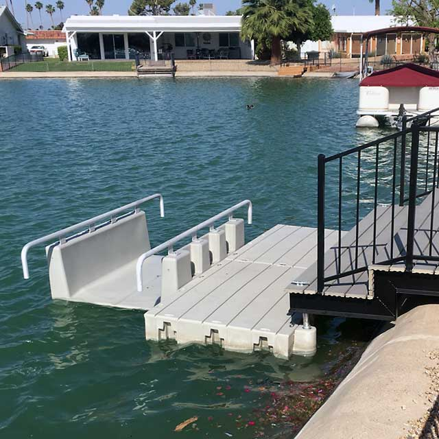 Yakport kayak Launch installed in AZ